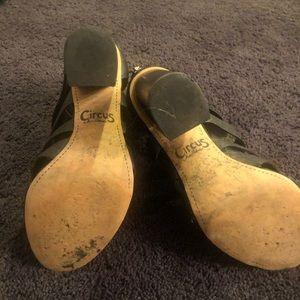 Sam Edelman Shoes - Sam Edelman Circus Caged black heeled sandal.